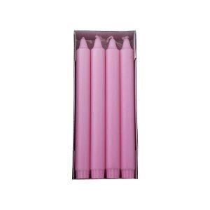pink overdryppet ren stearinlys