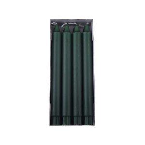 mørke grøn overdryppet ren stearinlys